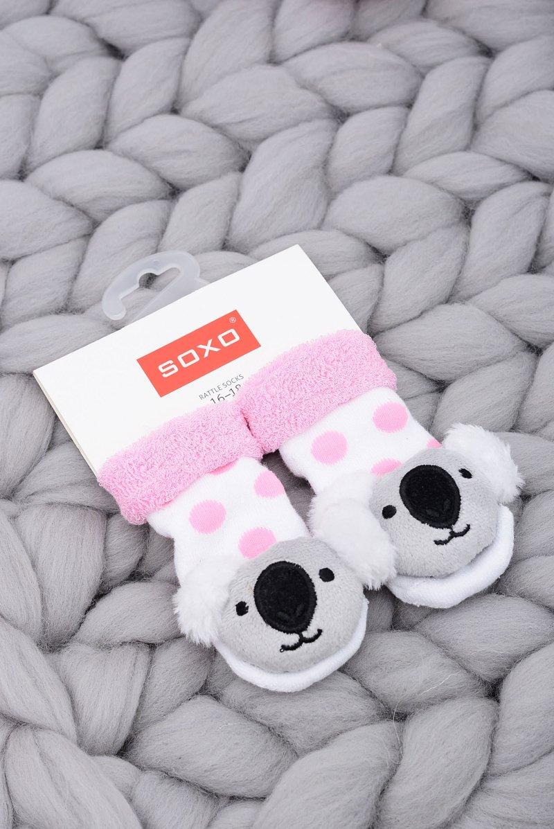 Baby Socks with Rattle Koala Soxo Bear