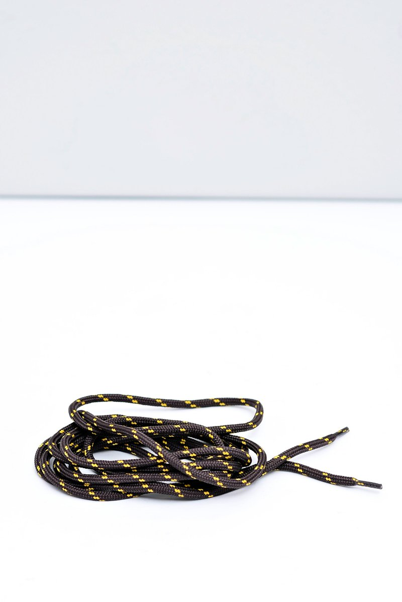 CORBBY Trekking Laces Brown-Yellow