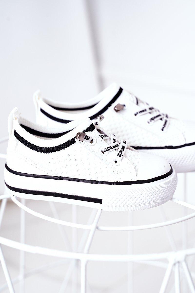 Children's Airy Sneakers White Kids Club