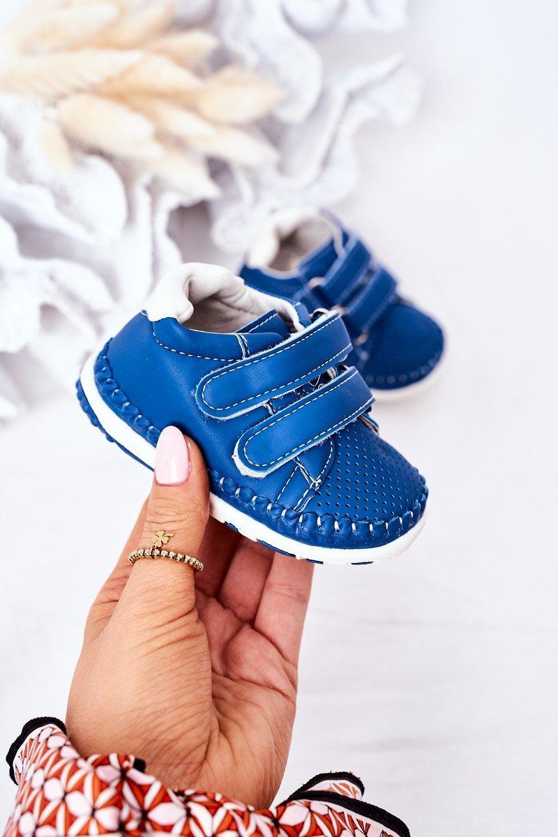 Children's Leather Sport Shoes Blue Billie