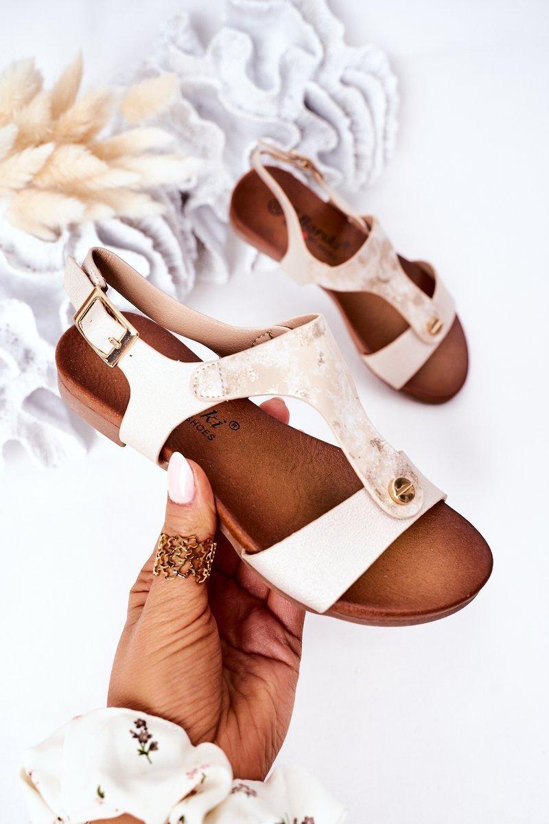 Children's Sandals S.Barski Comfort Gold