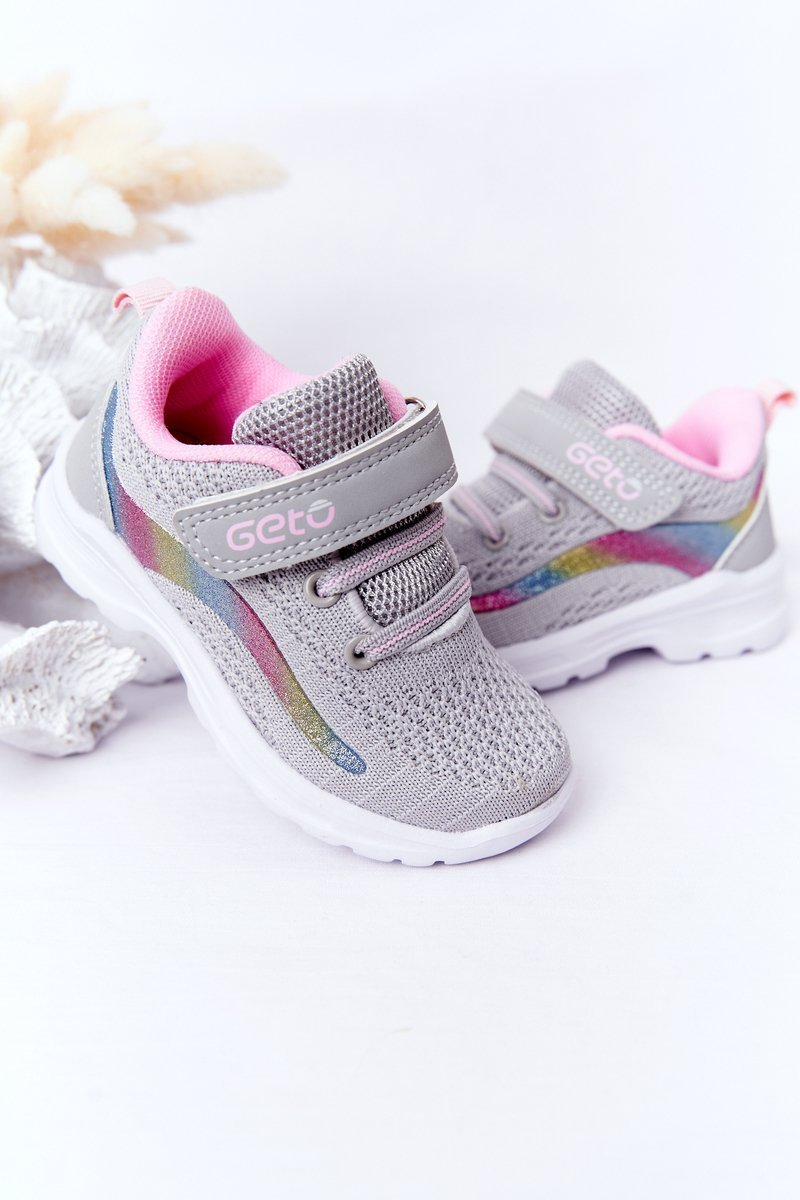 Children's Sport Shoes Sneakers Grey Ready Go!
