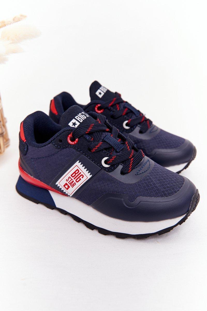 Children's Sports Shoes Memory Foam Big Star HH374171 Navy Blue