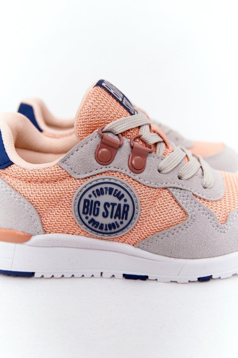 Children's Sports Shoes Memory Foam Big Star HH374180 Light Orange
