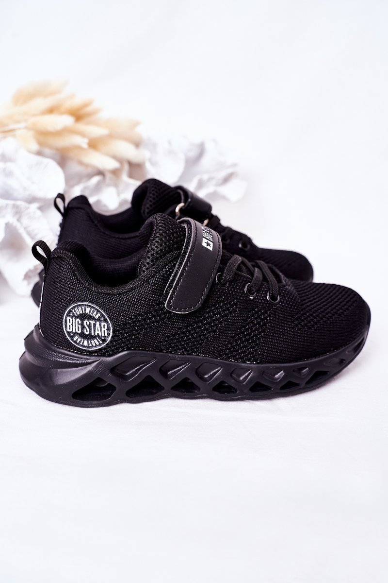 Children's Sports Shoes Sneakers Big Star HH374184 Black