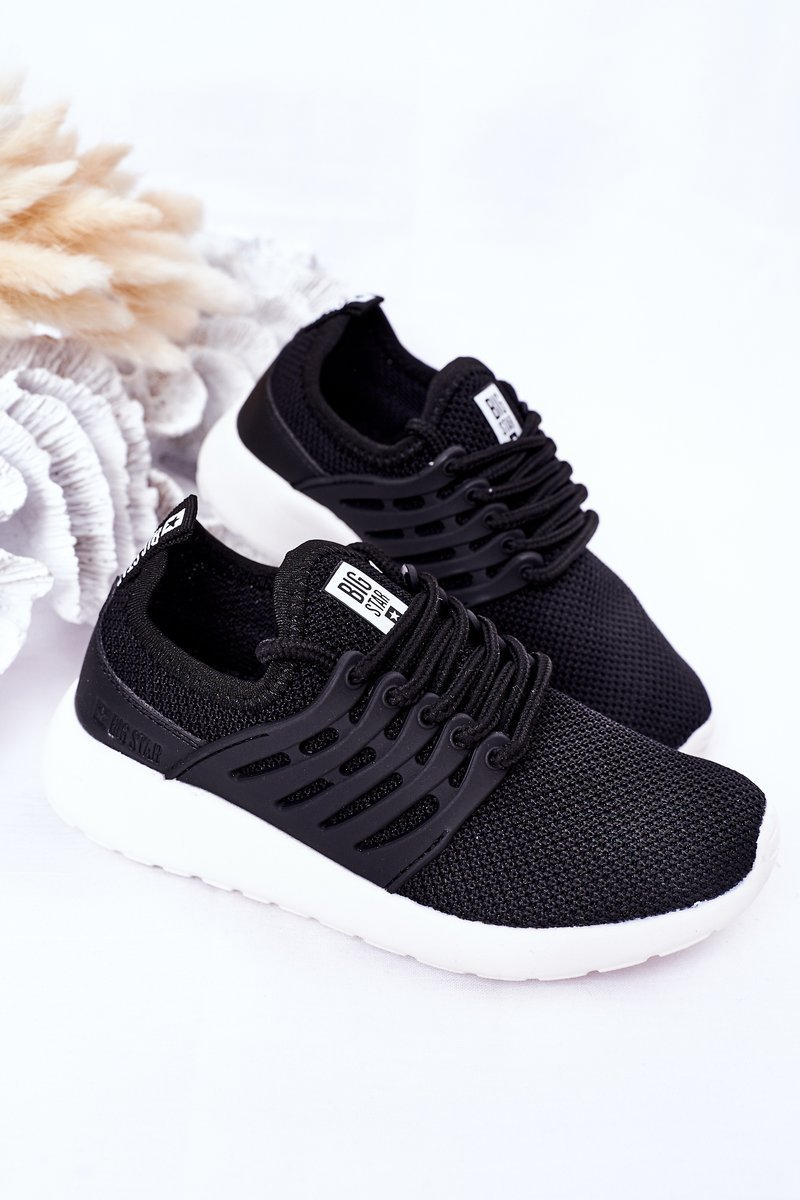 Children's Sports Shoes Sneakers Big Star HH374216 Black