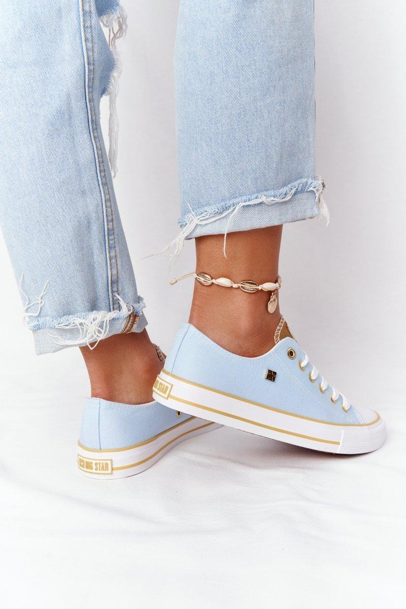 Classic Women's Sneakers BIG STAR HH274457 Blue