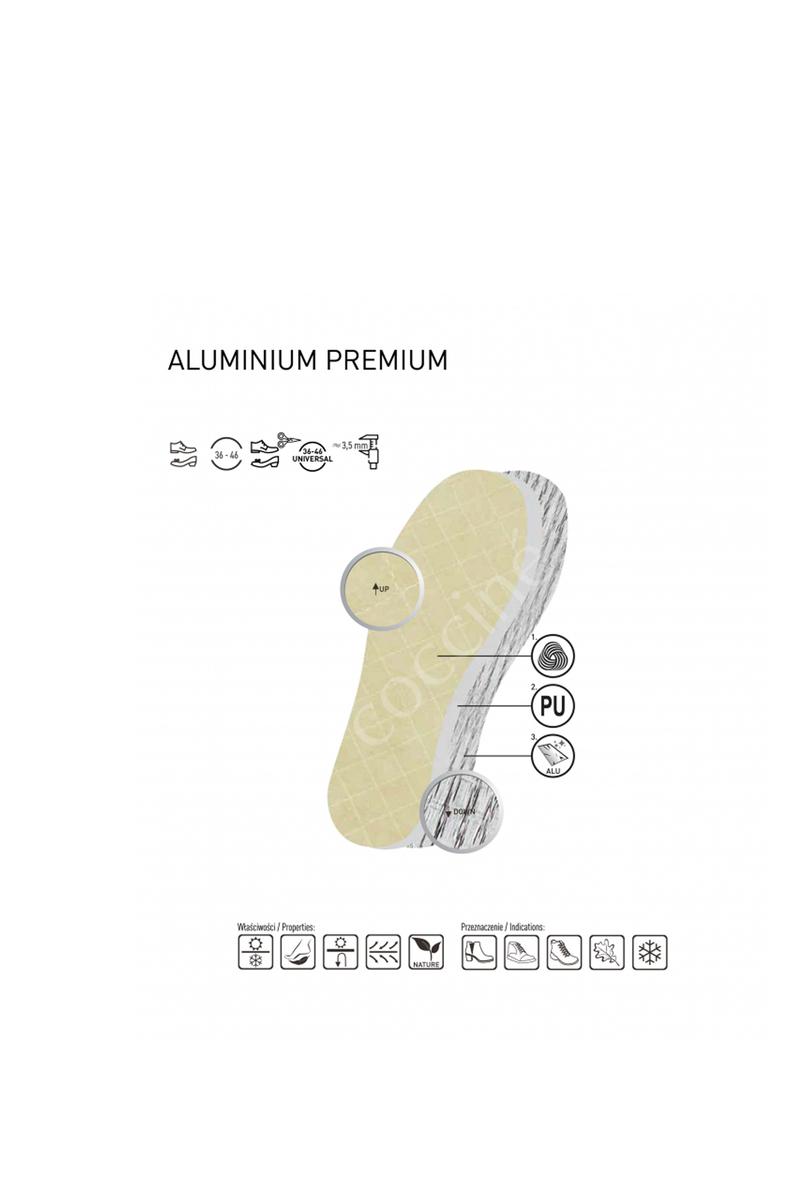 Coccine Aluminium Premium Warm Thermal insulation Insoles