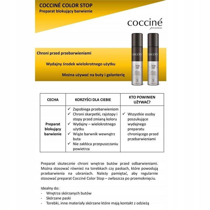 Coccine Color Stop Spray Prevent Footwear Coloring