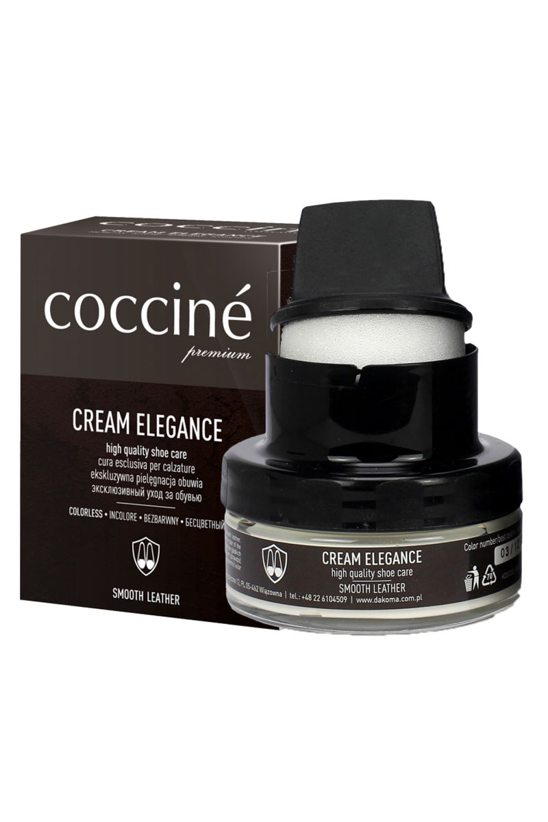 Coccine Cream Elegance Paste With Wax for leathers