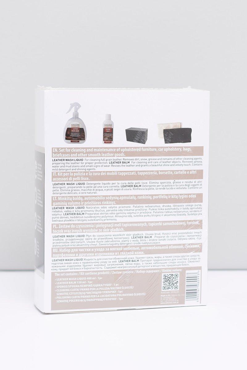 Coccine Zestaw Czyszcząco - Pielęgnacyjny Do Skór