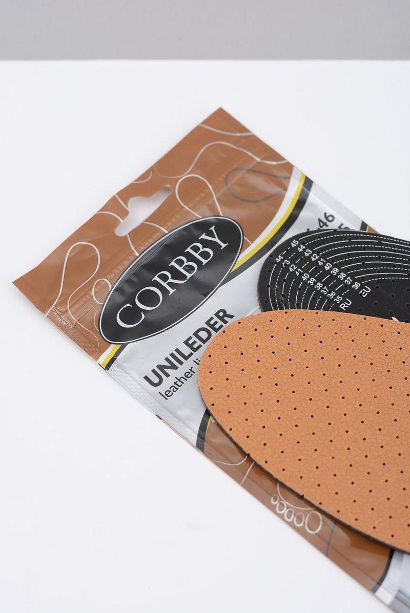 Corbby UNILEDER Skórzane wkładki uniwersalne