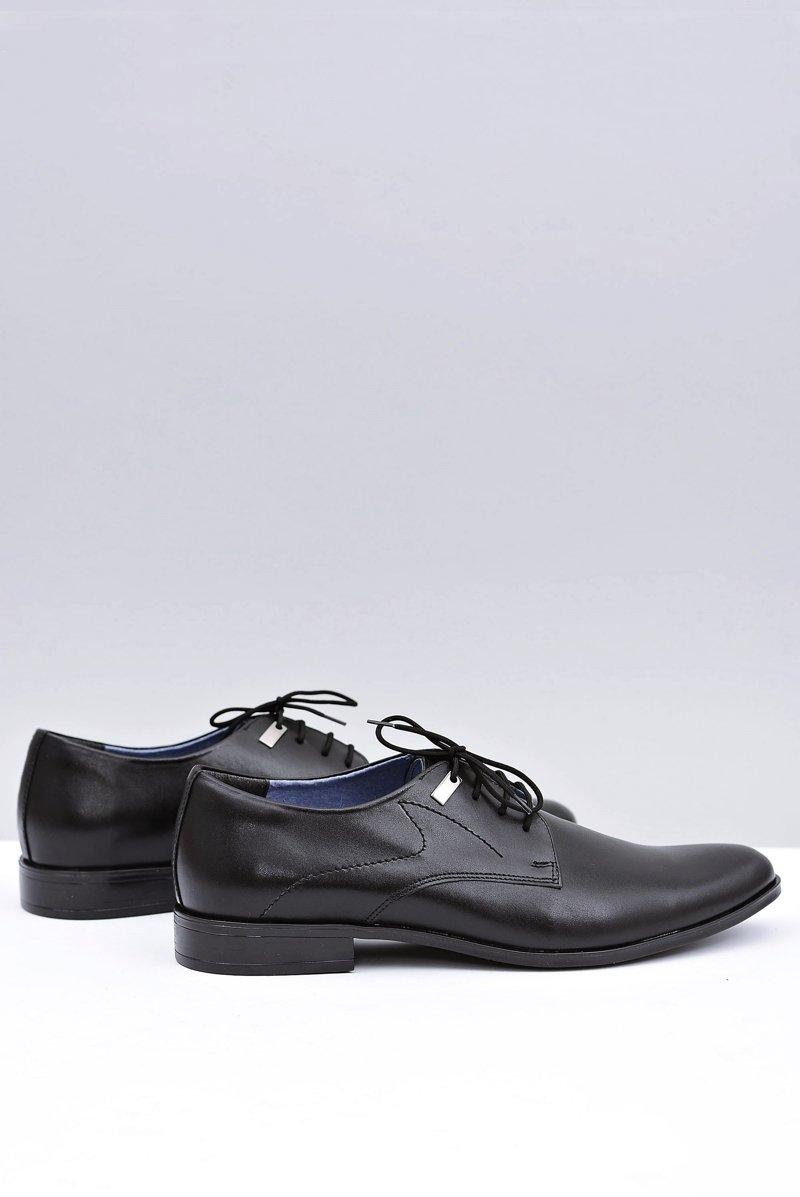 Elegant Black Escort Shoes Damaso