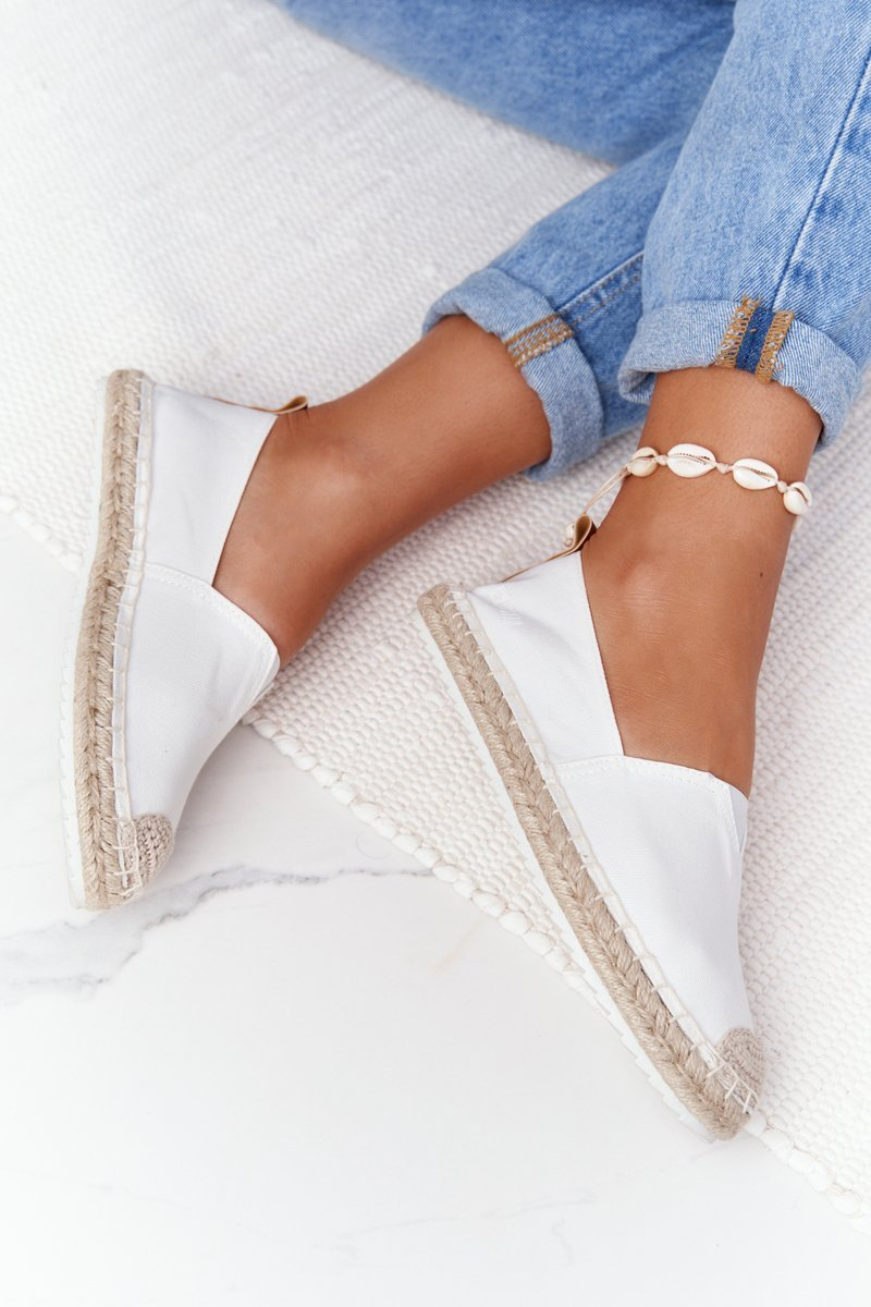 Espadrilles On A Braided Sole Big Star HH274493 Off White