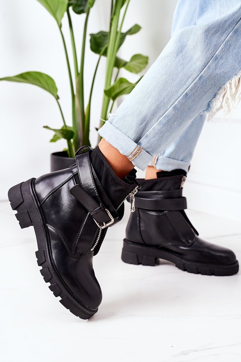 Insulated Boots Black Not Realy