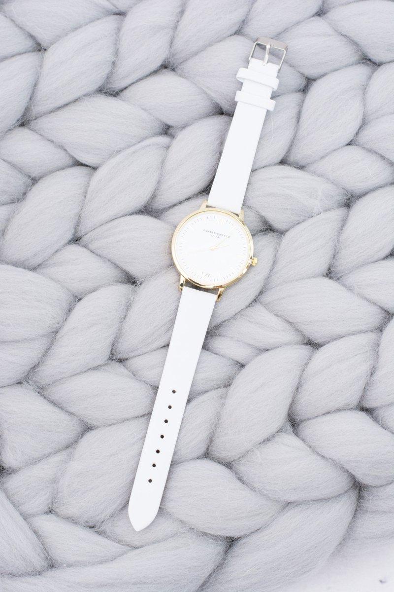 Ladies' Stylish Classic White Watch