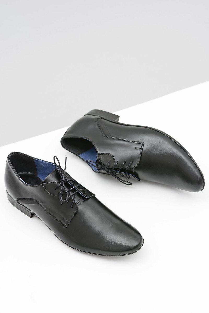 Men's Brogues Bednarek Elegant Leather Black Edmondo