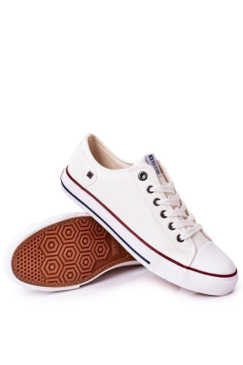 Men's Leather Sneakers Big Star II174001 White
