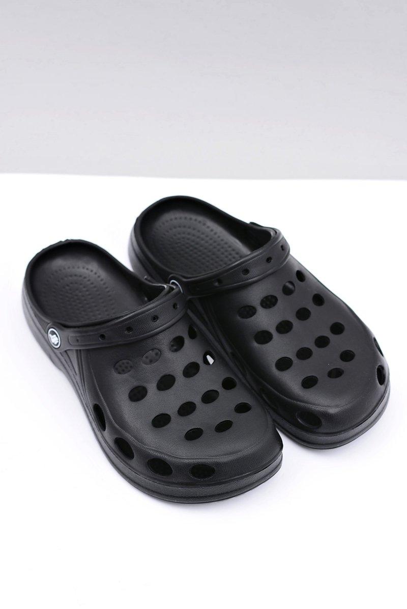 Men's Slides Sandals Crocs Black