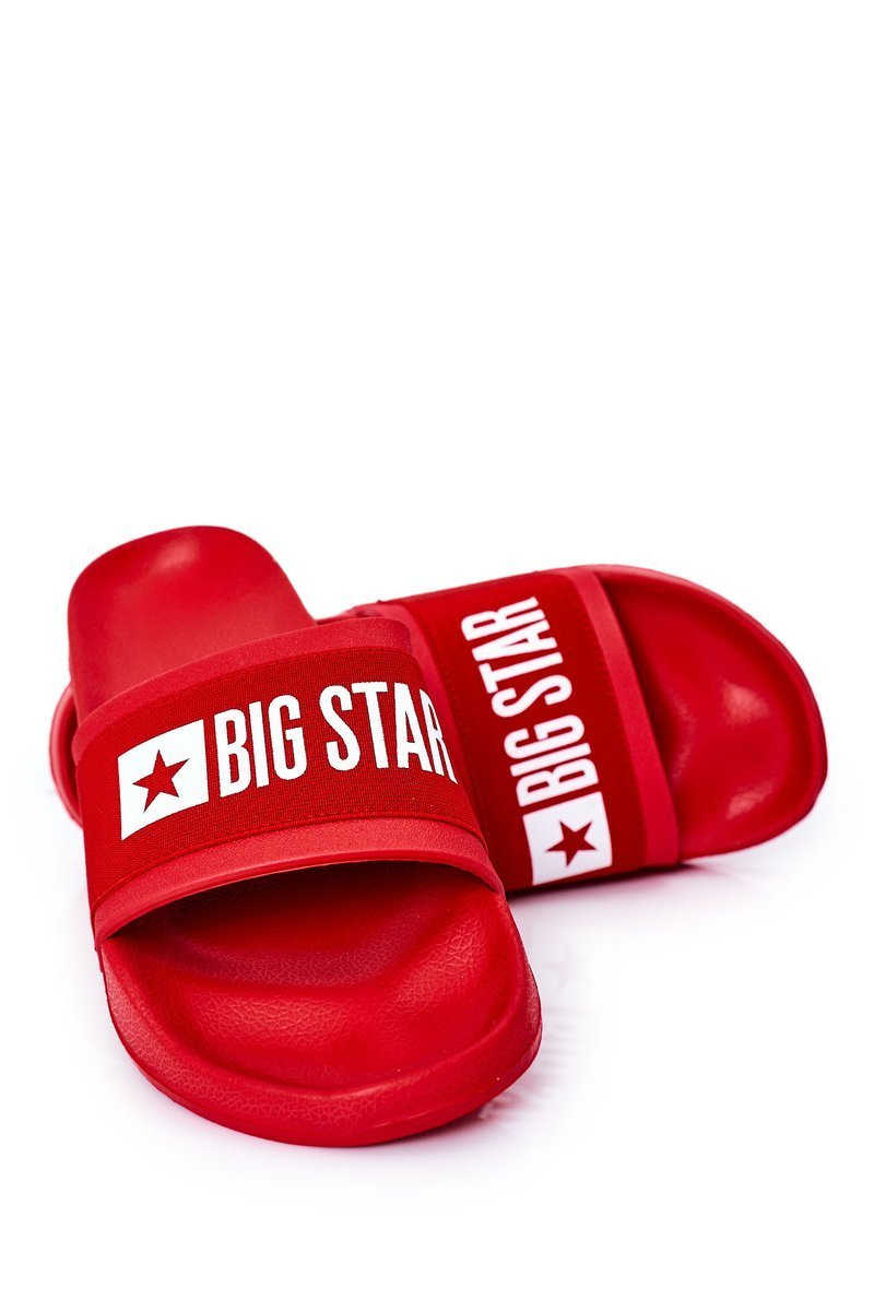 Men's Slippers Big Star HH174832 Red