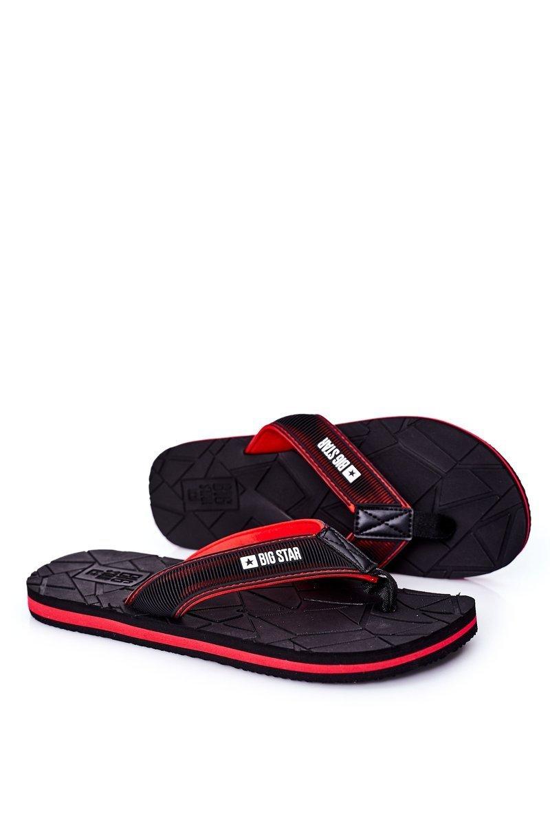 Men's Slippers Flip-Fops Big Star HH174820 Black