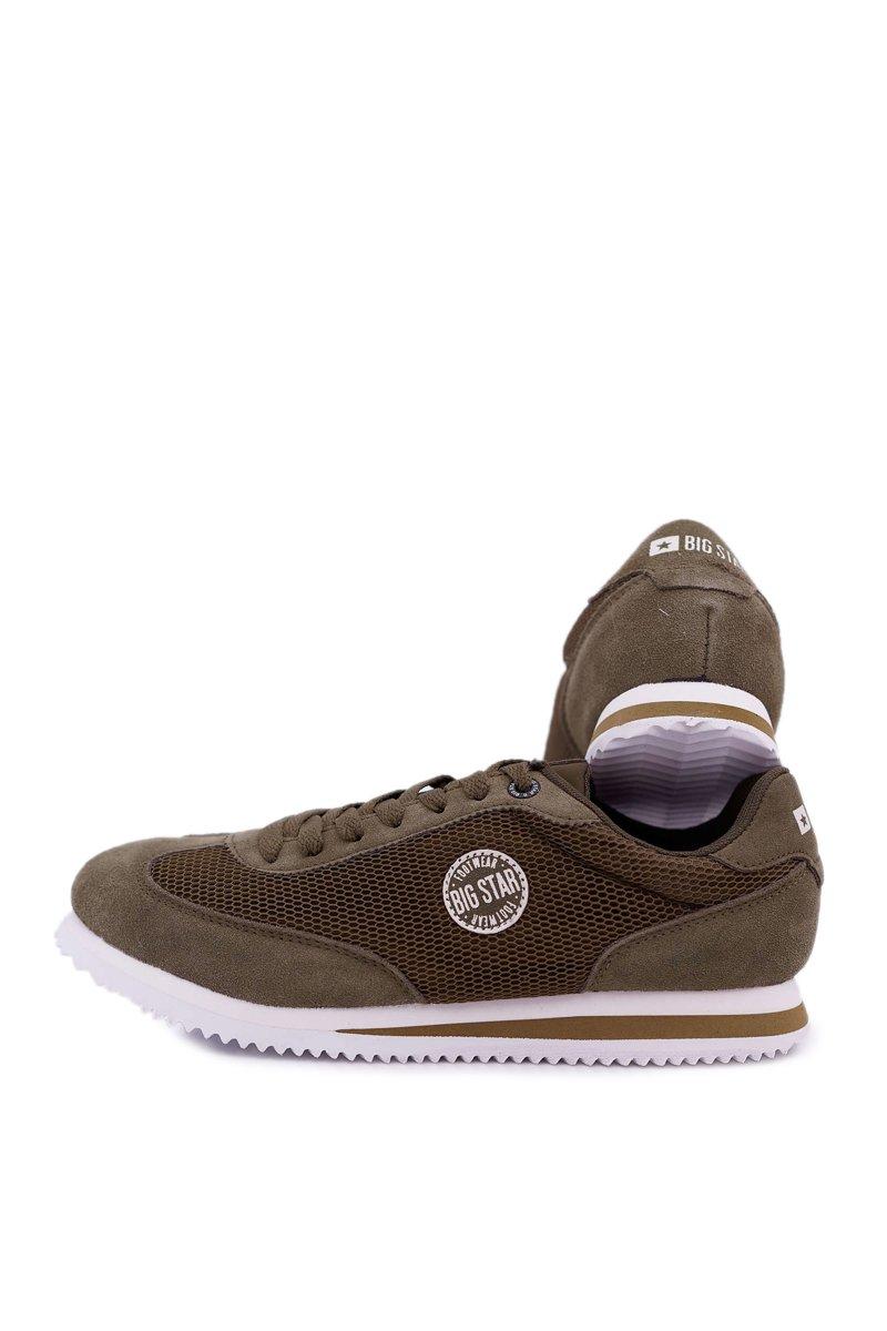 Men's Sport Shoes Big Star Khaki DD174088