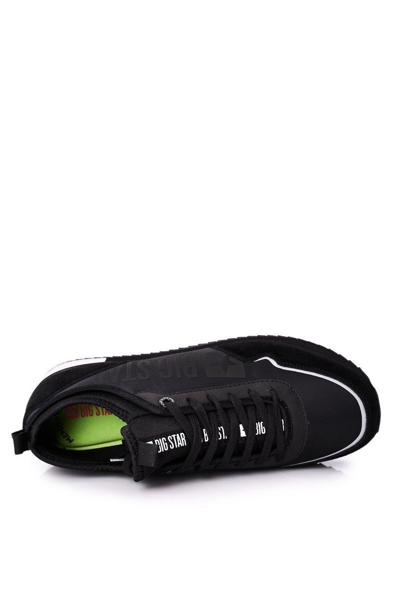 Men's Sport Shoes Memory Foam Big Star HH174212 Black