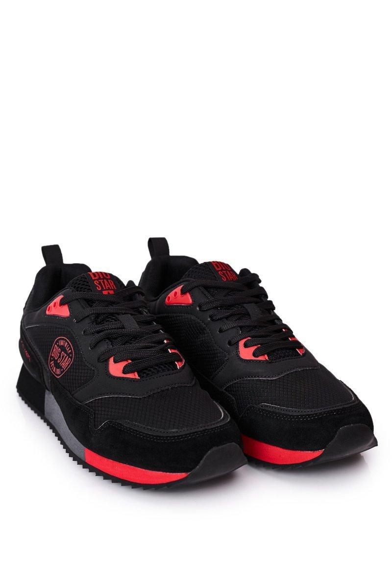 Men's Sport Shoes Memory Foam Big Star HH174241 Black