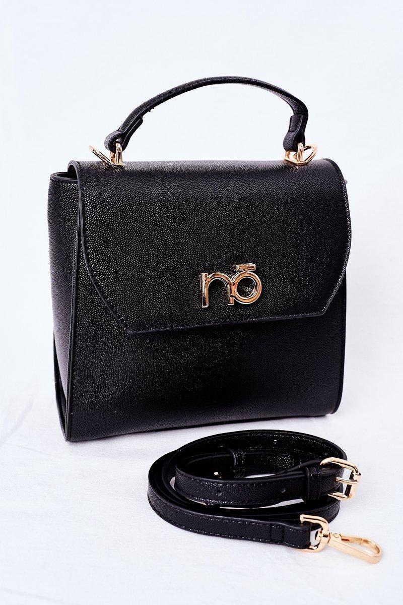 Messenger Bag Trunk Purse NOBO K2570 Black
