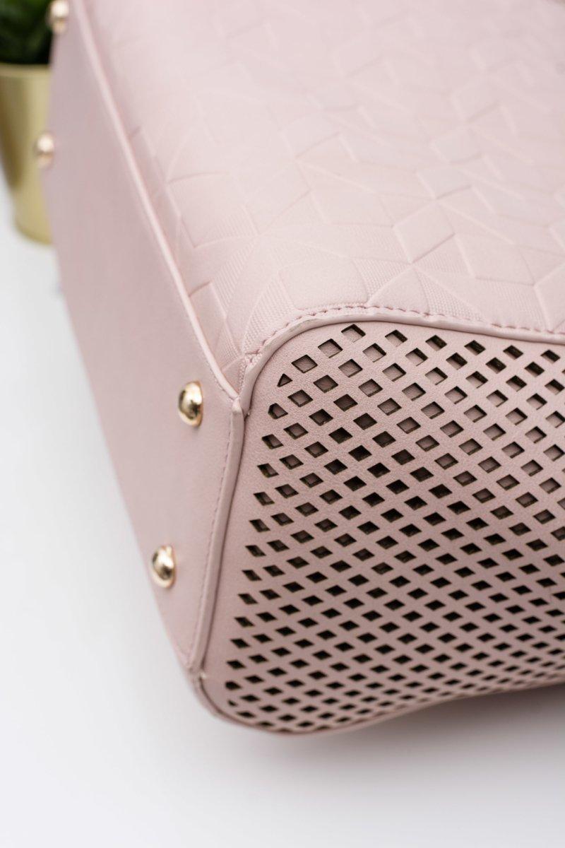 Monnari Bag Classic Shopper Powder Pink