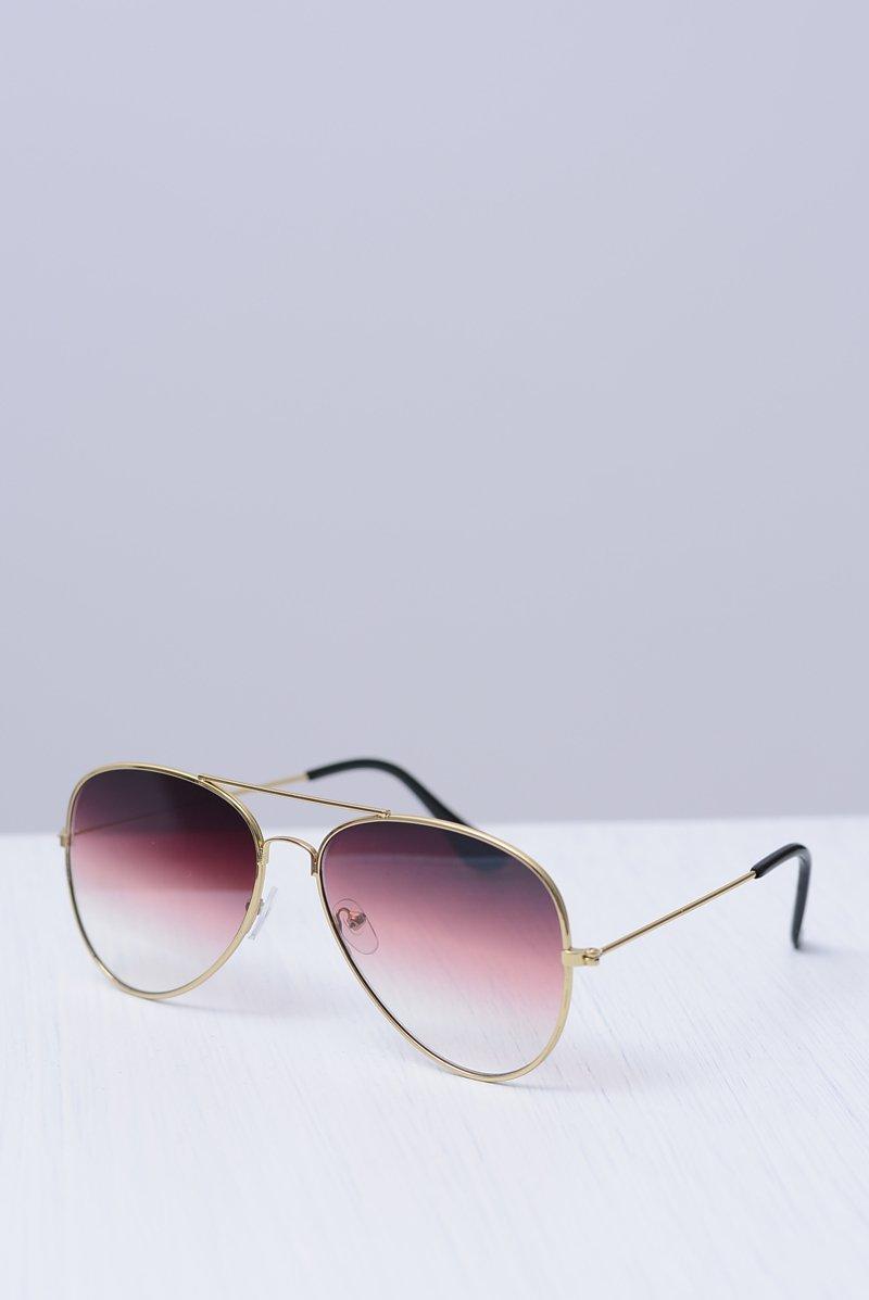 Okulary Prius CO-207 Złote