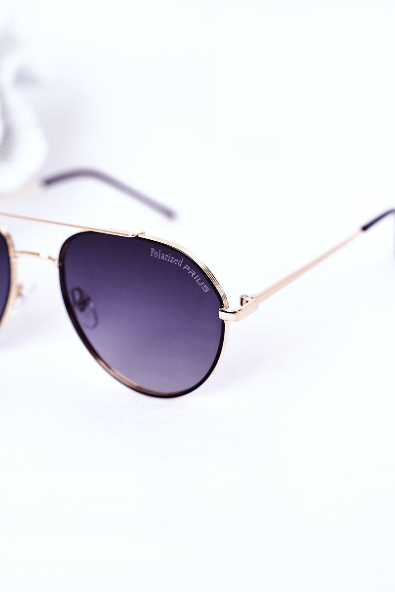 Polarized Sunglasses Aviator Black