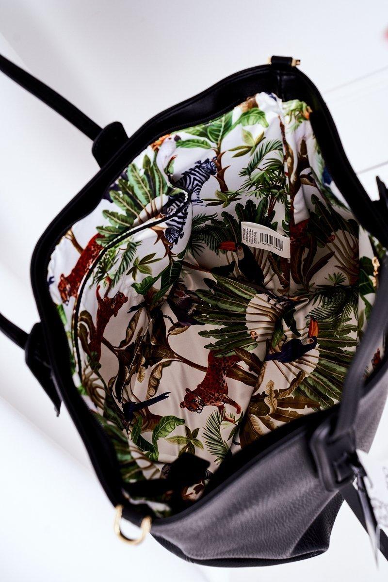 Shopper Shoulder Bag NOBO K3180 Black