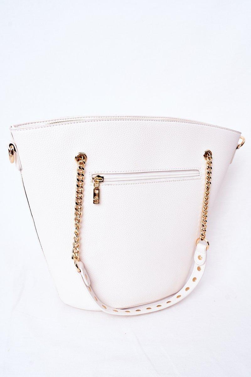 Shopper Shoulder Bag NOBO K4080 White