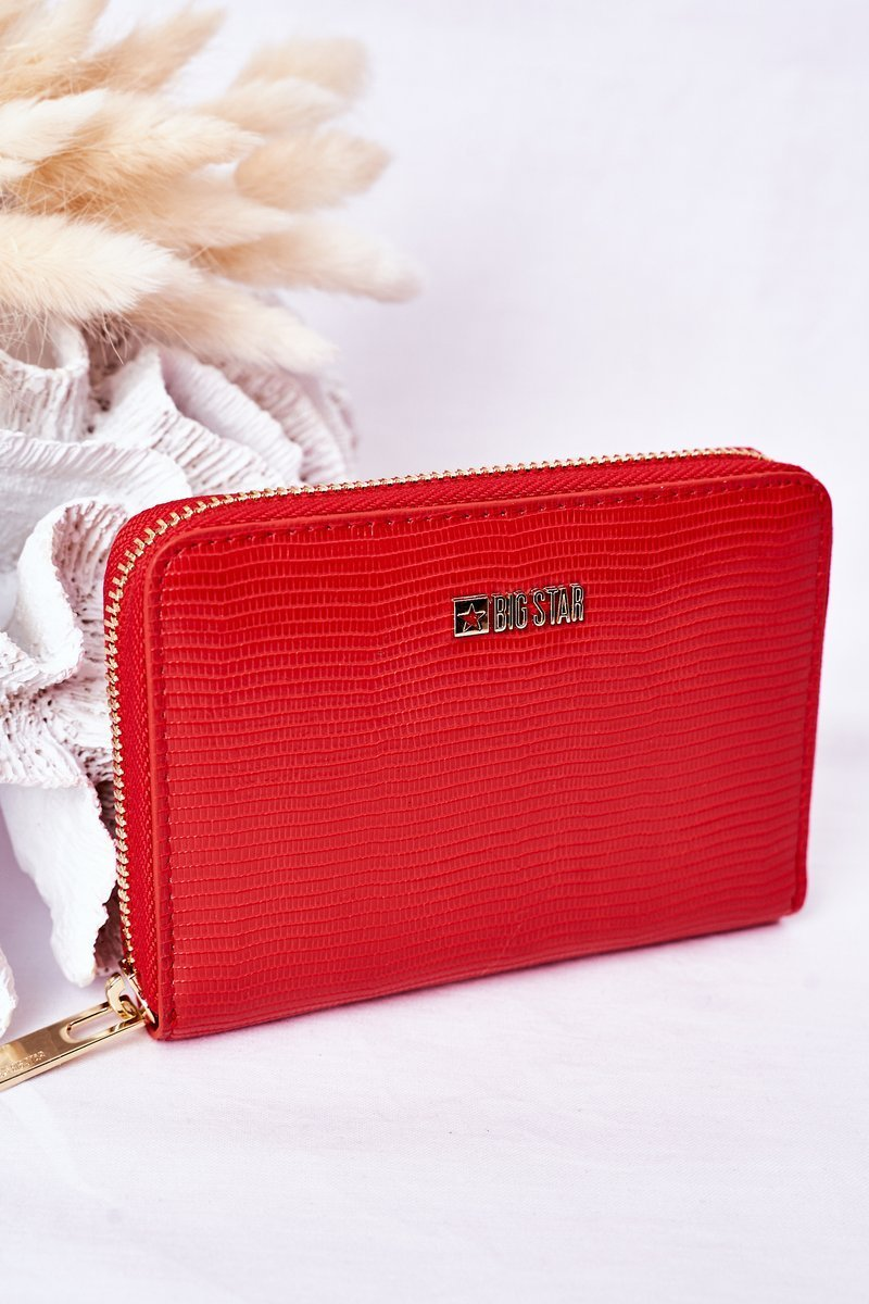 Small Wallet Big Star HH674008 Red