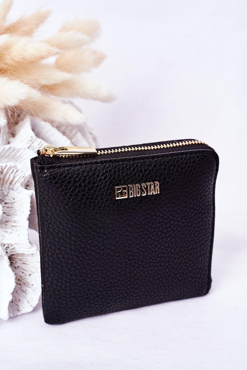 Small Wallet Big Star HH674013 Black