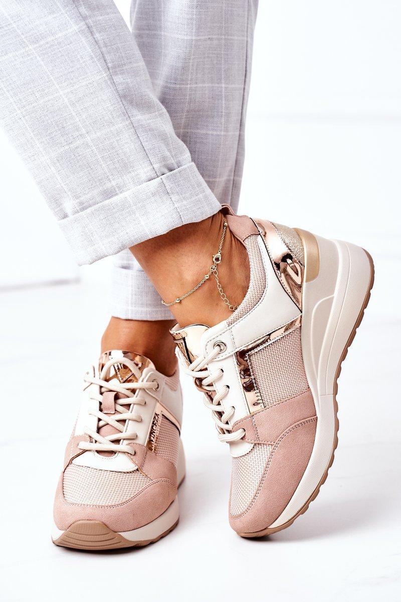 Wedge Sneakers Vinceza 10606 Pink
