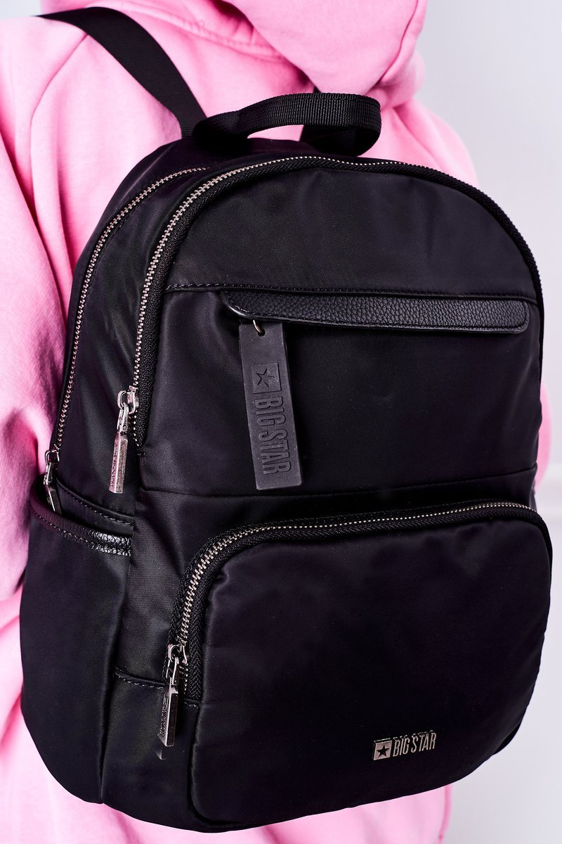 Women's Backpack Big Star HH574106 Black