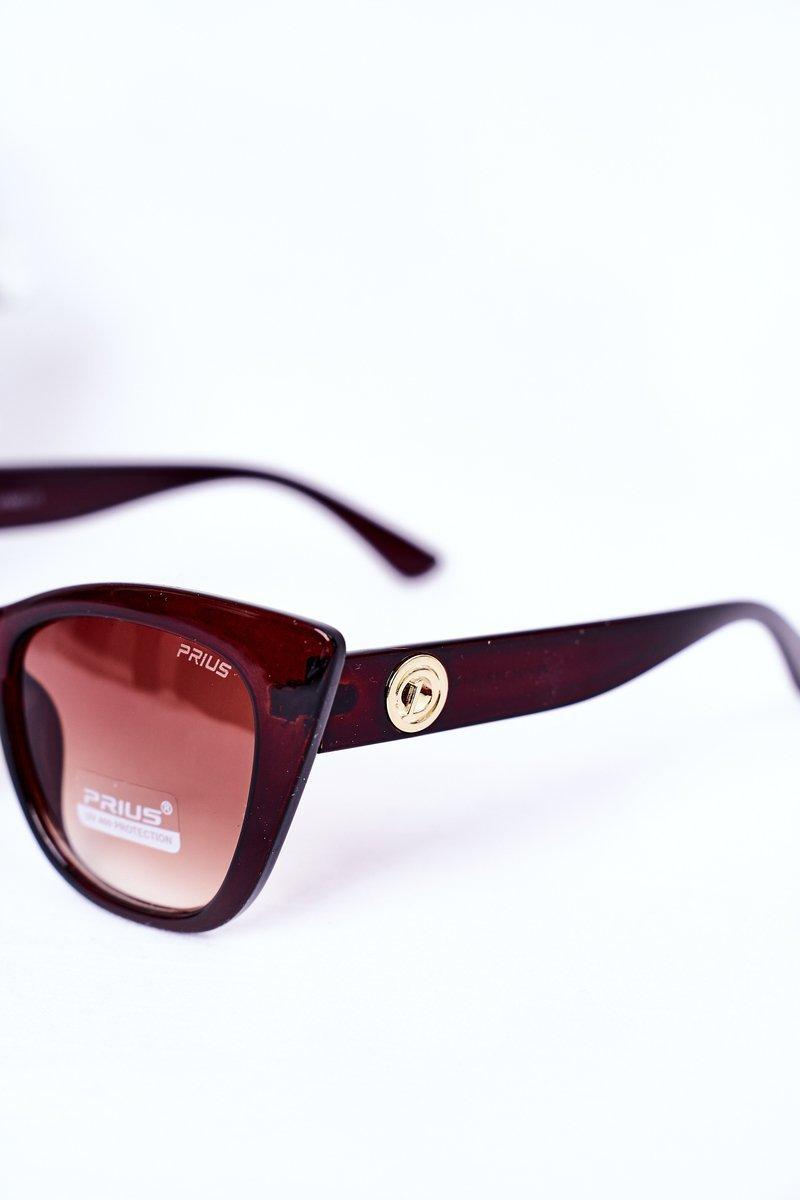Women's Cat Eye Sunglasses Brown Ombre