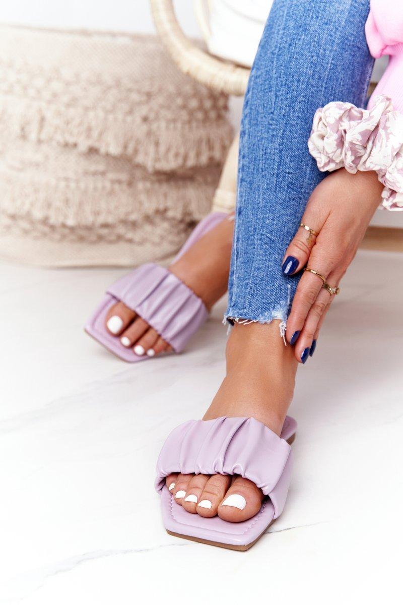 Women's Classic Slippers Purple Looking Good