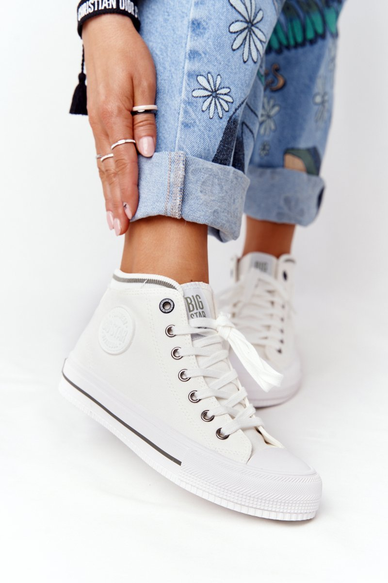 Women's High Sneakers Big Star HH274149 White
