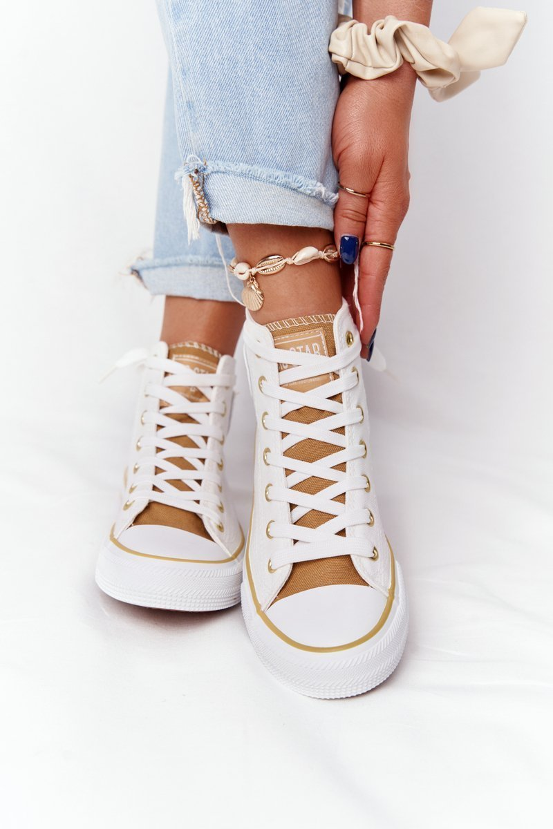 Women's High Sneakers Big Star HH274450 White