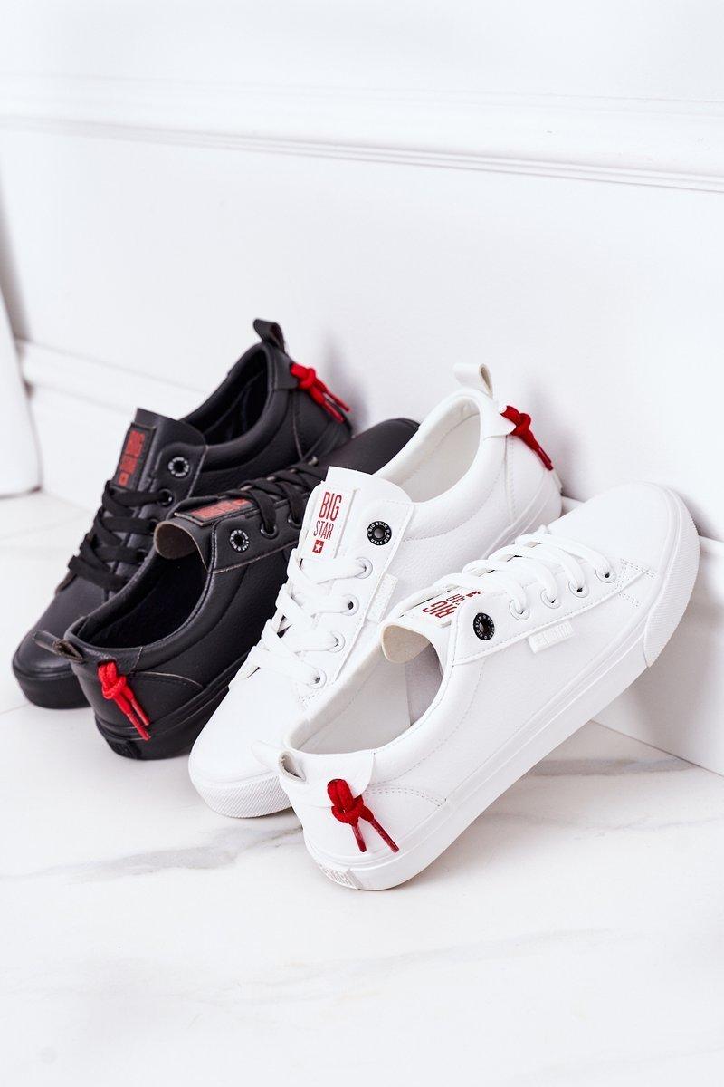 Women's Leather Sneakers BIG STAR GG274161 Black