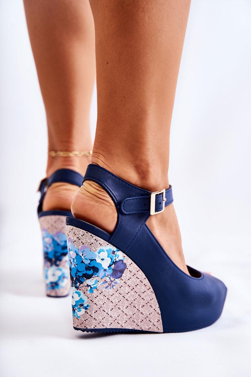 Women's Navy Blue Sandals Nemesis