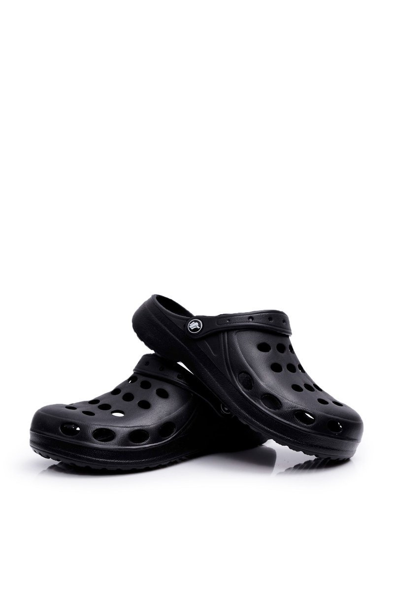 Women's Slides Foam Black Crocs EVA