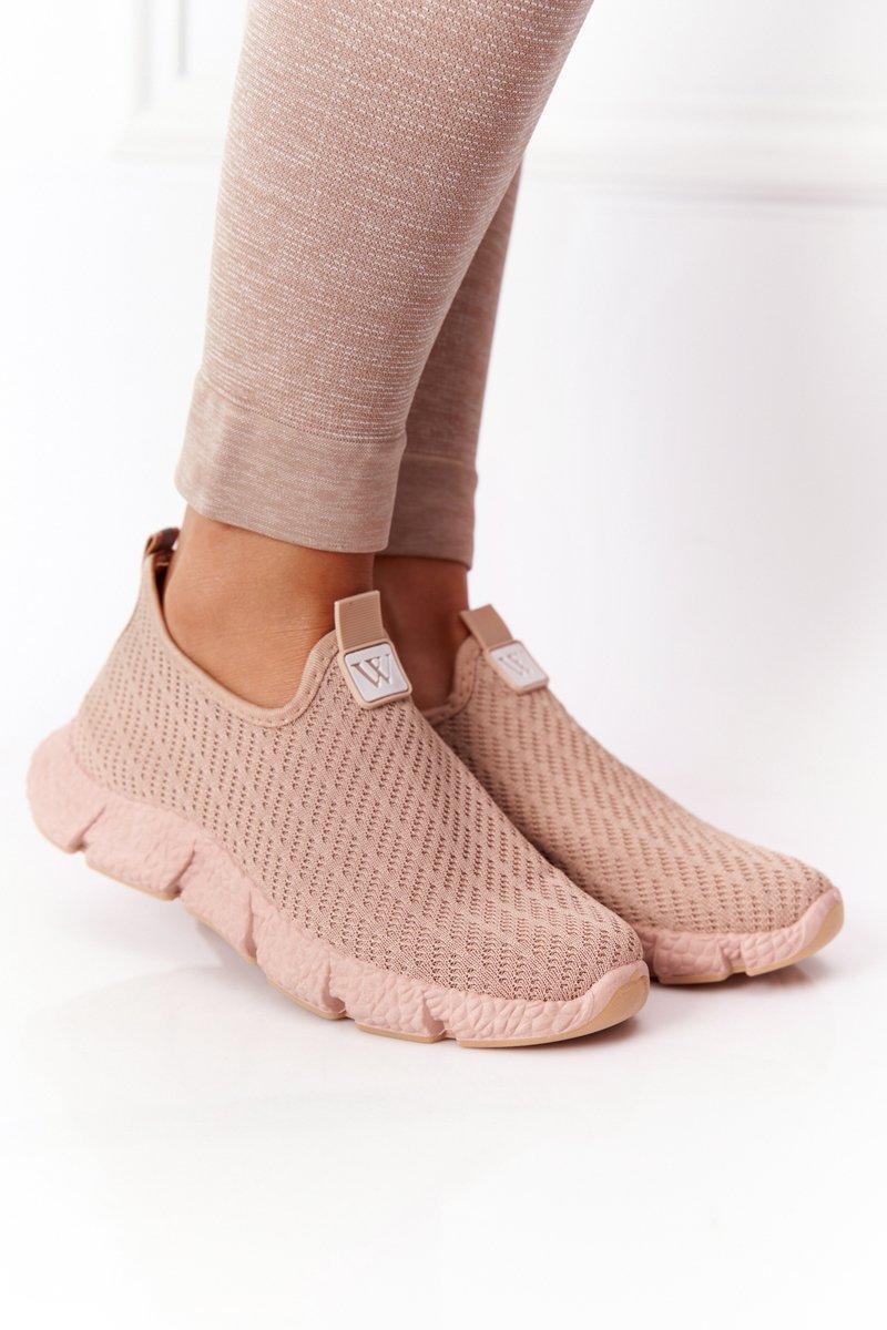 Women's Slip-on Sneakers Beige Marathon