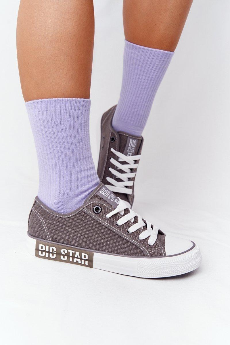 Women's Sneakers BIG STAR HH274116 Grey