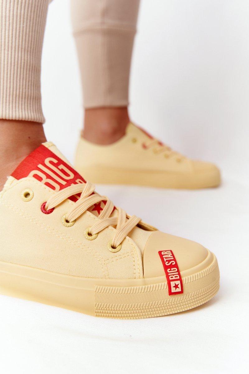 Women's Sneakers BIG STAR HH274680 Yellow
