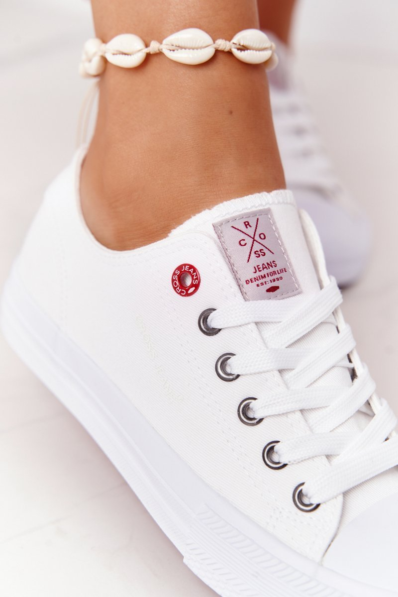 Women's Sneakers CROSS JEANS  HH2R4017C White