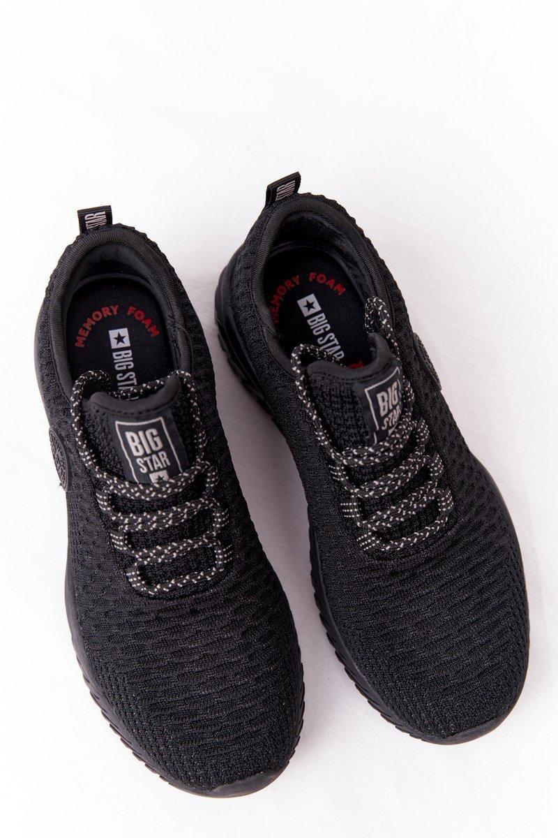 Women's Sneakers Memory Foam Big Star HH274298 Black